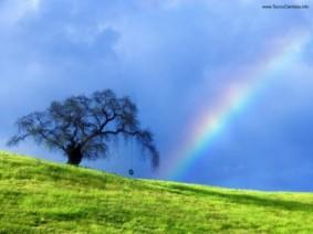 bre a duração de um arco-íris