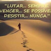 Nunca desistir